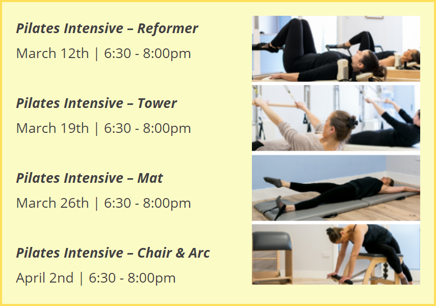 Deposit for March Intensive